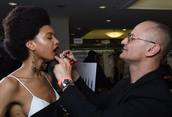 Backstage Beauty Look #NYFW NARS for Creatures of The Wind #narsissist, #NYFW, #Mark Carrasquillo , #fashion