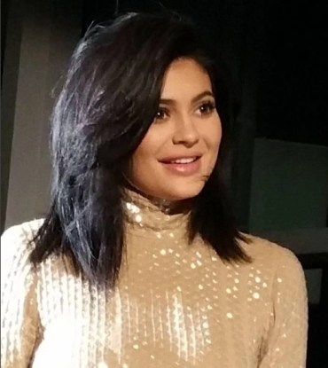 Kylie Jenner at Sinful Shine King Kylie Collectdion launch in NYC (c) ALison Blakcman