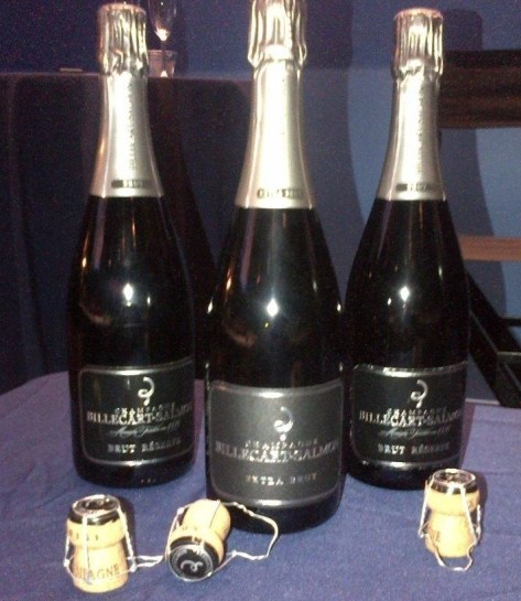 Billecart Salmon Champagne Bottles