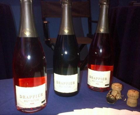 drappier champagne bottles