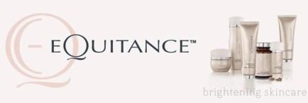 equitance brightening skincare banner