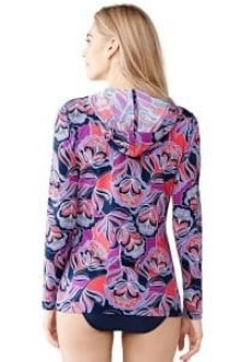 lands end swi cover up cardigan back view