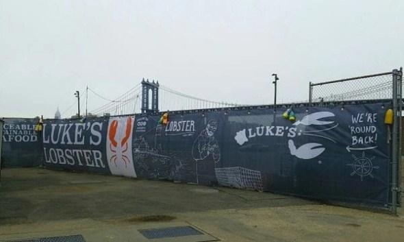 lukes lobster banner