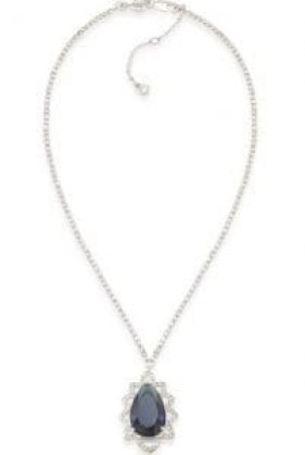 Prospect Park Teardrop necklace by Caroleee