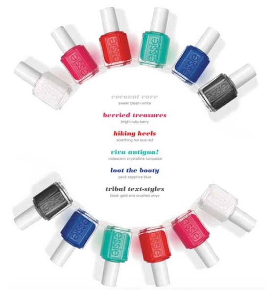 essie summer collection antigua 2016