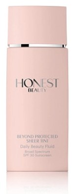 honest beauty beyond protected SPF 30 Daily Beauty Fluid Sheer Tint