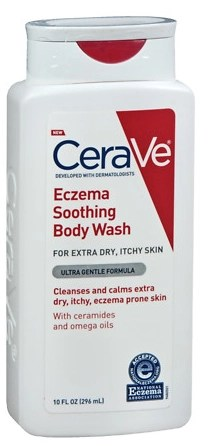 Cerave eczema Soothing Body Wash skincare