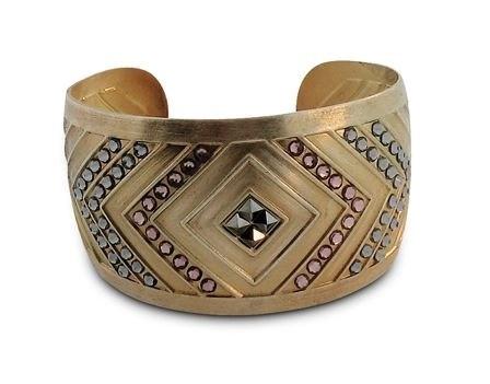 Isabelle Grace Jewelry Nadya Geo Cuff Bracelet