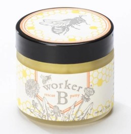 rescue putty worker b has all natural bee ingredients