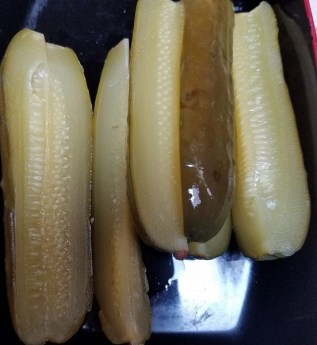 a closer look at some totally yummy pickles!