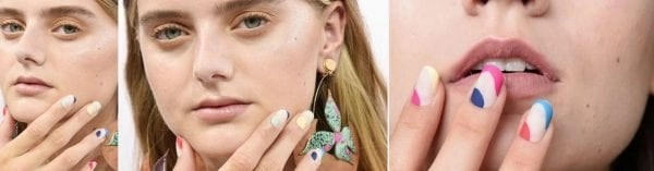 Morgan Taylor NYFW SS'17  nail looks for Tanya Taylor