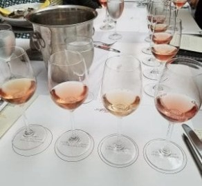 rose wines at BOBO