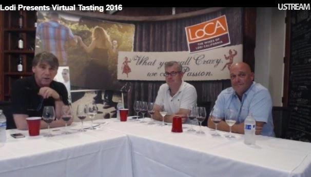 lodi wine tasting with snooth.com