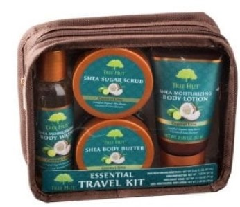 Tree hut travel essential gift kit