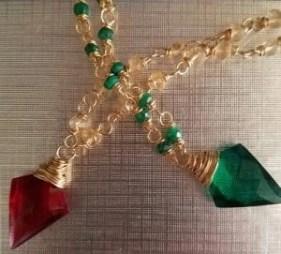 starletta designs dagger necklaces