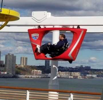 skyride on carnival vista