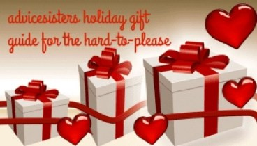 advicesisters holiday gift guide for the hard to please logo