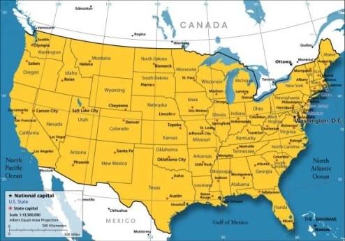 nations-captials map