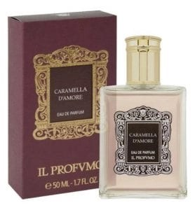 caramella damore with box fragrance