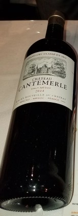 chateu cantemerle bordeaux from frfance