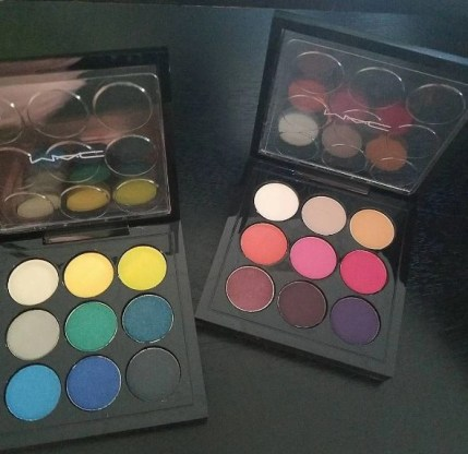 eyes on mac my two favorite palettes