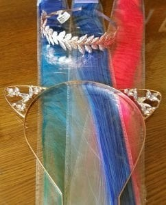 headbands with claires store hair clips