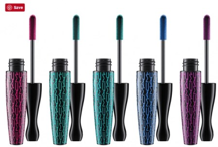 mac cosmetics work it out collection mascaras 2