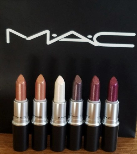 mac cosmetics metallic lipsticks advicesisters dot com collection