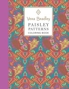 book vera bradley floral patterns coloring book