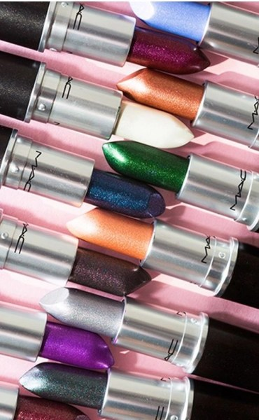MAC Cosmetics Makes Your Lips Metallic (as far as you want to take them)
