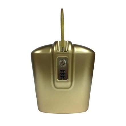 GOLD SAFESGO SHOWING COMBO LOCK