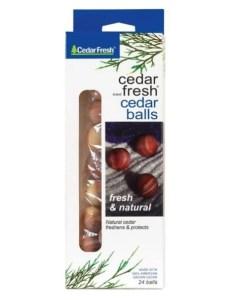 Household Essentials Cedar Balls 7_8- Dia.