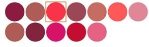 Mally Beauty H3 Gel lipstick colors