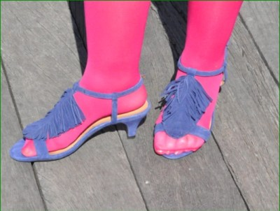Charade sandales by Aerosoles on the Brooklyn Ferry Pier