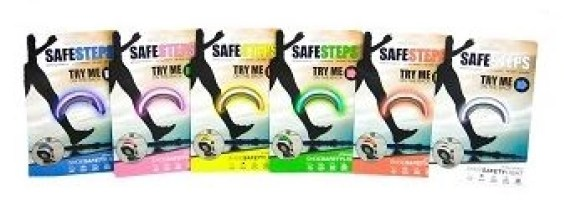 safe steps clip on shoe lights for runners all the colors