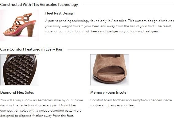 3 key points from aerosoles comfort