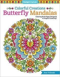 book butterfly mandalas