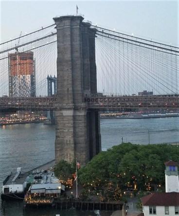 Take a walk over the Brooklyn Bridge!