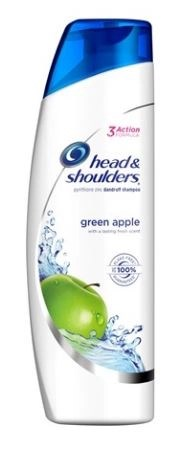 Beautiful hair has never smelled this good!  Bring those locks to the orchard and feel an air of confidence with the sweet scent of green apple.  Head & Shoulders Green Apple Shampoo cleans and cares for your scalp while providing extra conditioners to leave you with 100% flake-free*, beautiful hair that smells amazing.  Cleanses your hair and scalp with a fresh green-apple scent.  Gentle and pH balanced for everyday use, even for color or chemically treated hair.  7 Benefits:  Fights dry scalp, calms itchy scalp**, relieves irritation**, reduces redness**, great scent, controls flaky scalp** and leaves hair looking beautiful.  Fights flakes 24/7***.