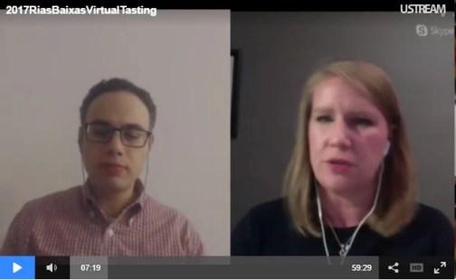 rias biaxas virtual wine tasting event video snip