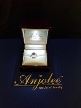 Anjolee MS271-A-Gem sapphire 3 gem ring