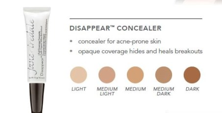 jane iredale disappear concealer group