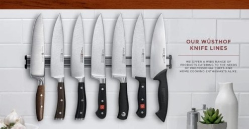 wusthoff knife lines