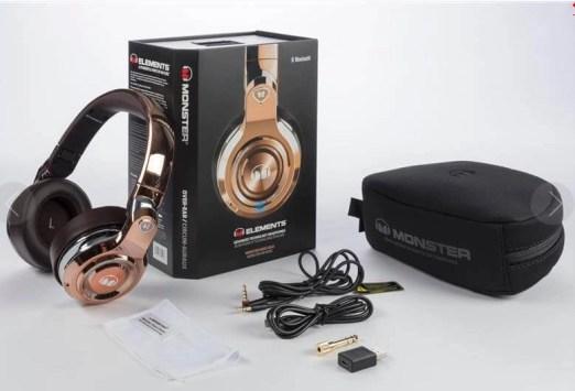 Monster elements Wireless Over Ear Headphones