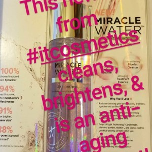 it cosmetics micellar water from insta