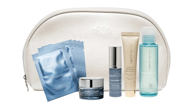 Try Out the Bright Side of Skincare With HydroPeptide's Travel Set