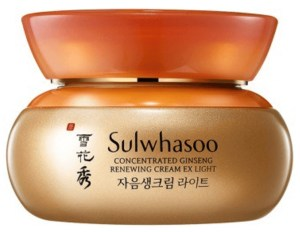 sulwhasoo concntrated ginseng renewing cream