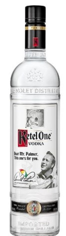 KETEL ONE ARNOLD PALMER COLLECTOR'S EDITION BOTTLE