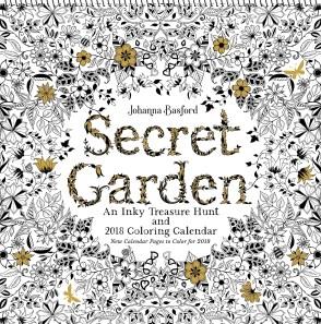 book secret garden calender 2018