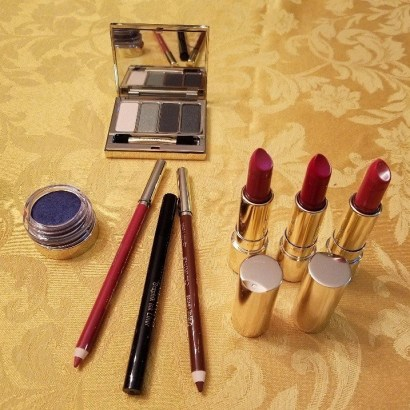 clarins Fall color collection samples